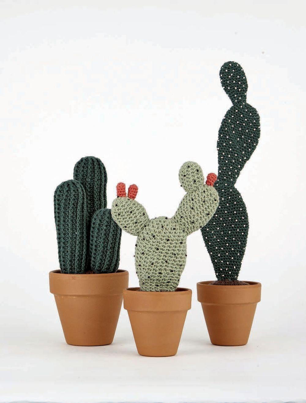 вязание в эко стиле кактусы и суккуленты 16 пушистых проектов для