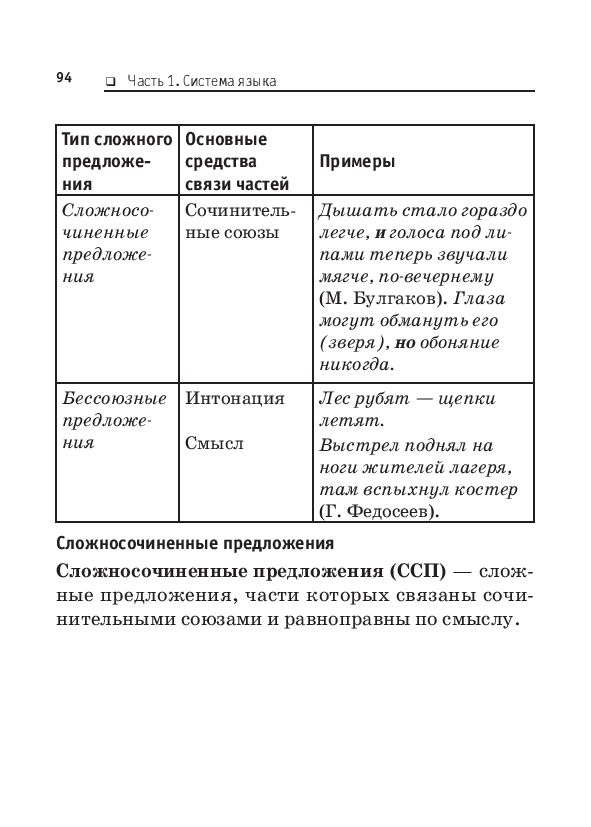 язык в таблицах и схемах.