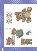 Вышиваем крестиком. BABY дизайны Марии Диас. Милые схемы для вышивки — фото, картинка — 1