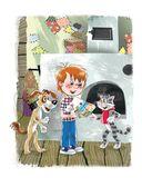 Дядя Фёдор, пёс и кот — фото, картинка — 2