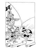 Раскраска. Disney. Любимые герои. Микки, Дональд и их друзья — фото, картинка — 11