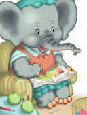 Слоненок пошел учиться — фото, картинка — 5