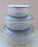 Набор контейнеров термостойких (3 шт.; арт. 9040669) — фото, картинка — 1