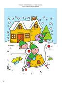 Большая книга новогодних раскрасок и игр — фото, картинка — 5