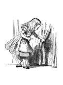 Алиса Джона Тенниела. Раскраски, поднимающие настроение — фото, картинка — 3