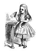Алиса Джона Тенниела. Раскраски, поднимающие настроение — фото, картинка — 4