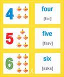 Разумные карточки. ABC & numbers — фото, картинка — 1