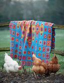 Радужные пледы. Вяжем крючком блок за блоком — фото, картинка — 8