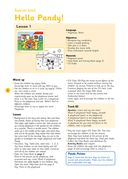 Pandy the Panda: Teacher's Guide 1 (+ CD) — фото, картинка — 7