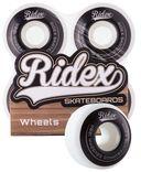 Комплект колес для скейтборда SB (4 шт.; 52х32 мм; черно-белый) — фото, картинка — 1