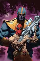 Дэдпул против Таноса — фото, картинка — 4
