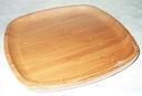Блюдо бамбуковое (250х250х19 мм) — фото, картинка — 1
