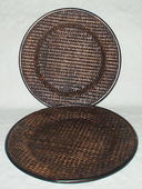 Набор тарелок декоративных (2 шт.; 300/280 мм) — фото, картинка — 1