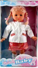 Кукла с косичками в панамке — фото, картинка — 1