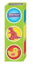 Пластилин шариковый (3 цвета) — фото, картинка — 1
