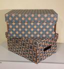 Набор коробок (2 шт.; голубой) — фото, картинка — 1