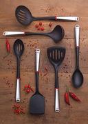Ложка кухонная пластмассовая (350 мм) — фото, картинка — 1