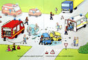 Пожарные и спасатели (+ наклейки) — фото, картинка — 1