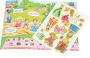 Принцесса. Развивающий плакат-игра с наклейками — фото, картинка — 1